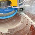 Однодисковая роторная машина для влажной чистки сильных загрязнений поверхности