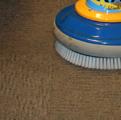 Однодисковая роторная машина для чистки ковров с использованием щёток
